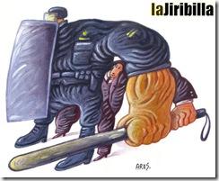 a quien protege la represion del estado burgues