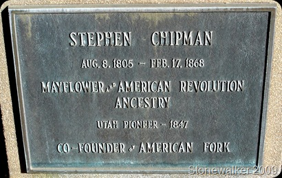 Stephen Chipman tombstone