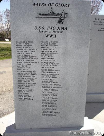 AF Cemetery WWII Veterans Memorial 4