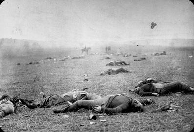 Union Dead Gettysburg