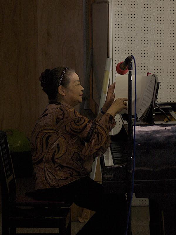 高6期の窪田さんとピアノで