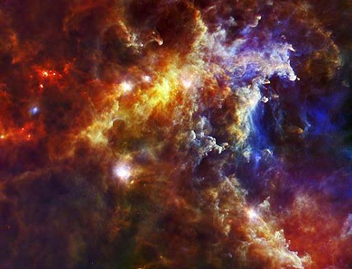 Imagem da Nasa mostra a nebulosa Roseta, um berçário estelar a cerca de 5.000 anos-luz da Terra, na constelação de Unicórnio