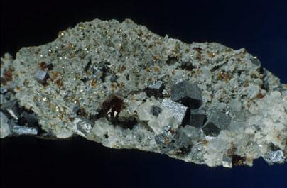 Esfalerita-Sphalerite, Galena, Fluorita-Fluorite