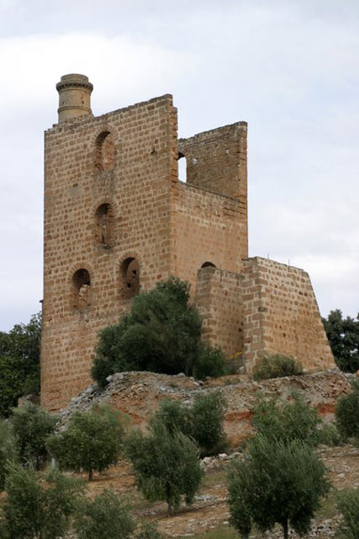 Mina Las Angustias: pozo Barings