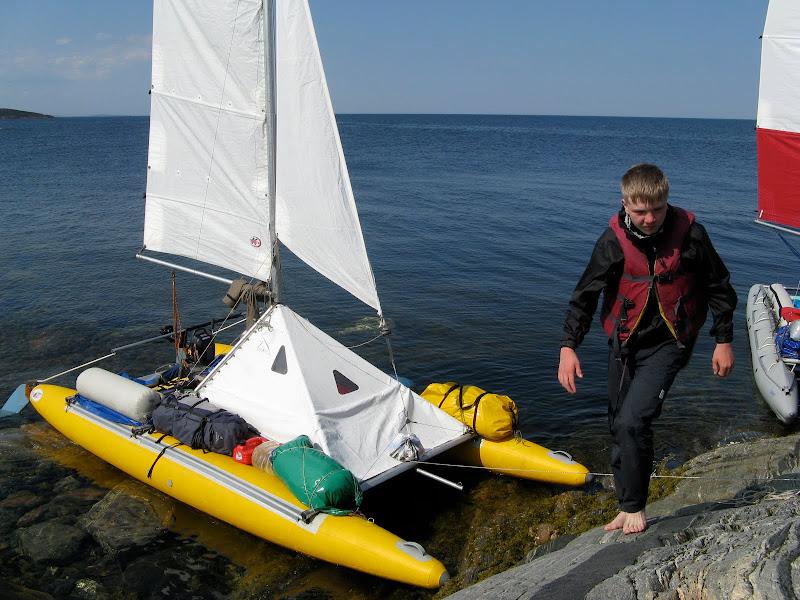 гребная лодка поход