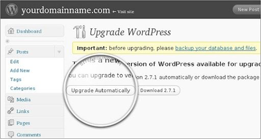 Wordpress 3.0 upgrade automat - Descarca WordPress 3.0