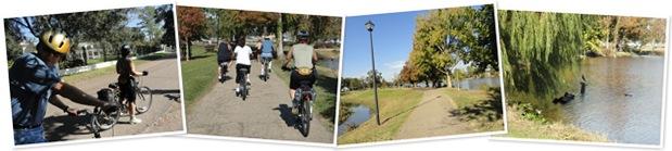 View bikeriding lsu lakes