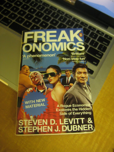 Interesting book I'm reading - Freakonomics