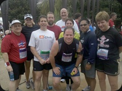 After the Bridge Run 2010 Group Pic