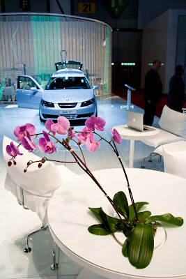 salon auto geneve 2009 Saab bio-ethanol