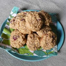 Spiced Oat and Cranberry Cookies