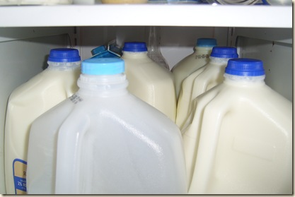 six gallons of milk