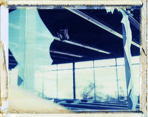 Polaroid 195, ID-UV, Black Canyon City, AZ by moominsean