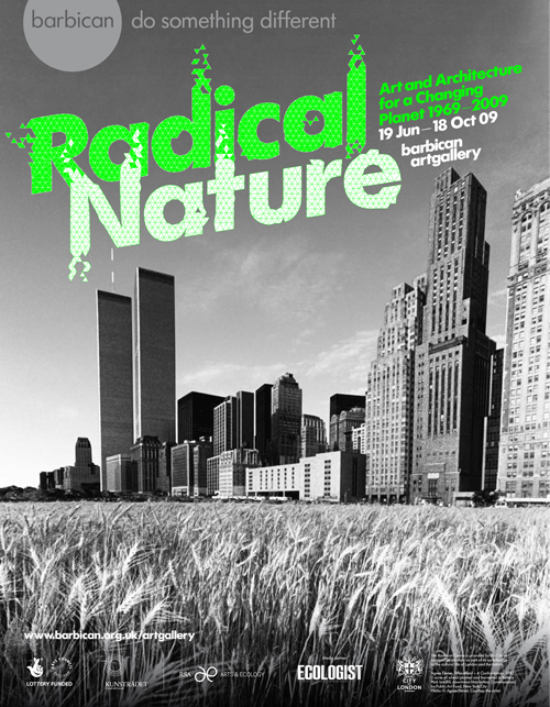 Radical Nature poster by Research Studios
