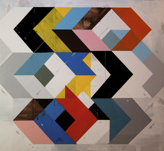 Jeff Depner - Reconfigured Grid Painting No 4