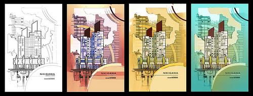 Nakagin Capsule Tower - Comps by FunkdaFide
