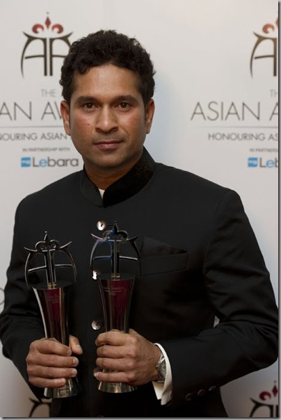 Sachin Tendulkar at The Asian Awards3