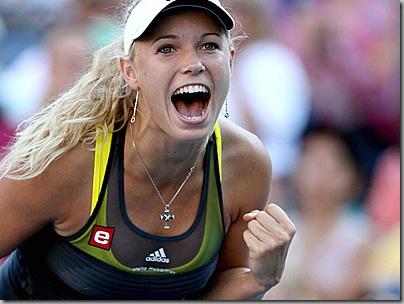 Caroline Wozniacki WTA Tour Championship No.1