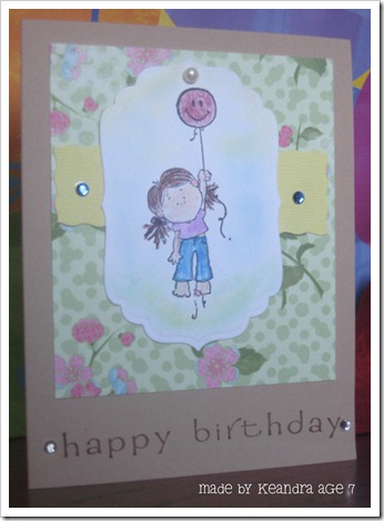keandra card for brooke