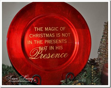 Christmas Presence charger