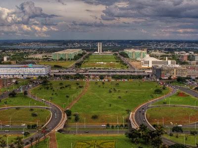 vista panorâmica de Brasília
