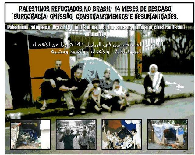 REFUGEES IN BRAZIL LOOKING FOR RESPECT - REFUGIADOS EM BUSCA DE DIGNIDADE