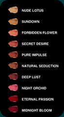edward bess lipstick colours
