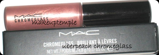 mac uberpeach chrome glassd