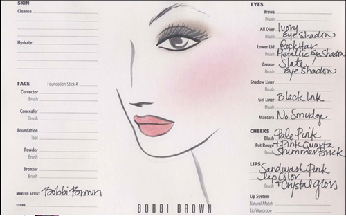 bobbi brown kate micdleton makeup