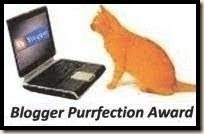 BloggerPurrfectionAward