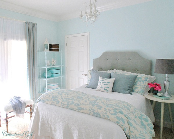 Blue green gem favorite paint colors blog for Pretty bedroom colors