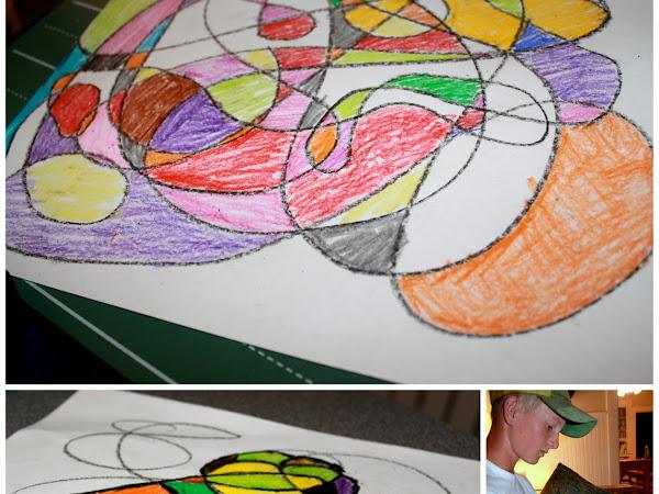 Crayon Doodles and T-Shirt Crayon Design