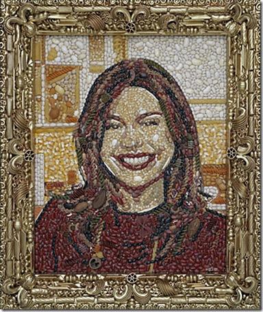 Rachel Ray (macaroni, beans) by Jason Mecier