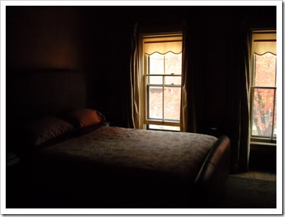 Bedroom. October 2009