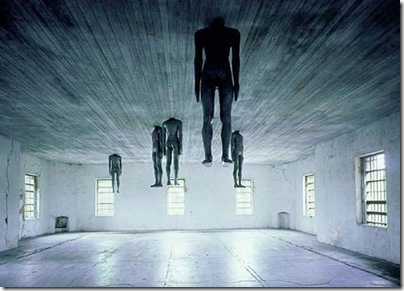 Learning to Think, Antony Gormley (1991)