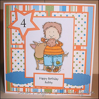 SSC #6 - Card for a boy - option to include an animal