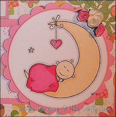 CCC challenge 72 - baby card (close up)