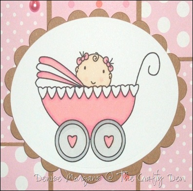 baby card (close up)