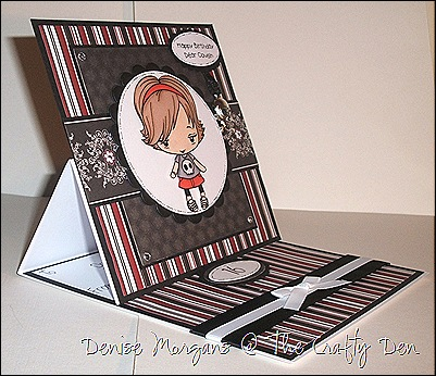 easel card (side view)