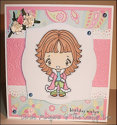 CCC challenge 70 - 5x5 b'day card