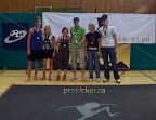 Mixed doubles top 3,