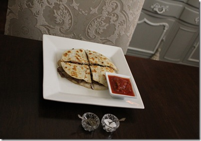 quesadillas dining room