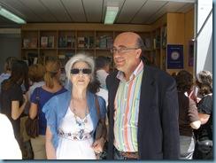 ROSA DÍAZ Y CARLOS BLANCO. Feria del Libro de Sevilla. 23 mayo 2009 Caseta Librería HyS