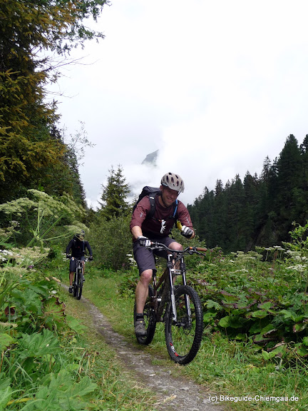 Mountainbike Hüttentour - Bikeguide Chiemgau