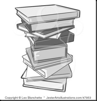 Pile-of-Gray-School-or-Library-Books-47953