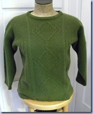 eco friendly sweater tutorial