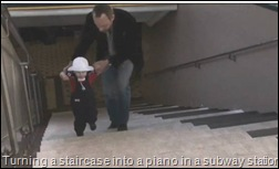 2010_05_21 - Turning a staircase into a piano in a subway station