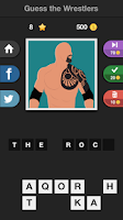 Screenshot of Icontrivia : Wrestlers