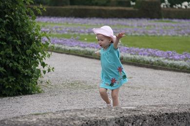 Morning walk in the Hochgarten, Residence, Munich