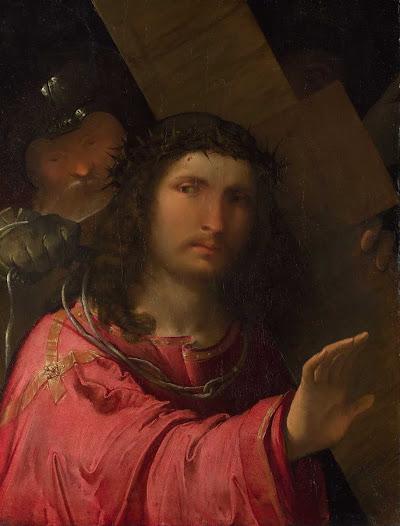 Melone Altobello, Cristo che porta la croce
